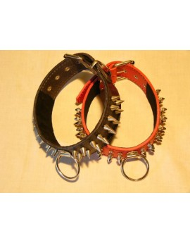 STUDDED BRIDLE COLLAR