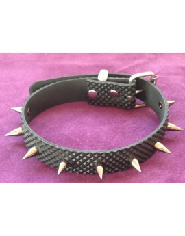 1in RUBBER SPIKED COLLAR