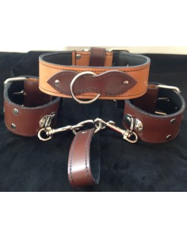 FOUR IN ONE LEATHER RESTRAINTS