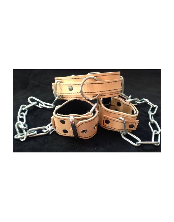 COLLAR AND ARM RESTRAINTS