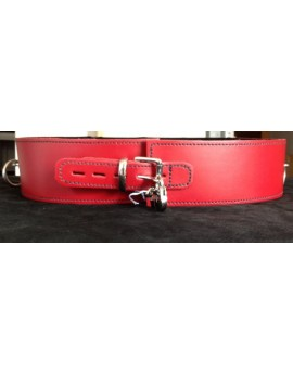 LEATHER BONDAGE BELT