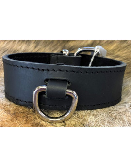 Buffalo leather collar